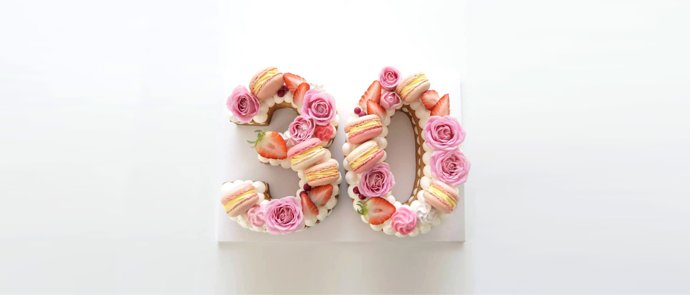 Number Cake Recipe